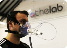 Vo2 max testing at PML The Lab